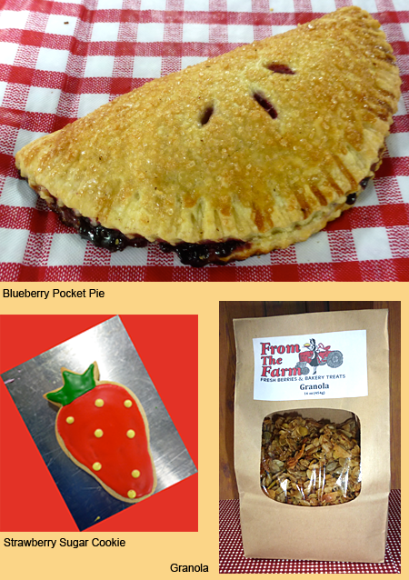 Pocket pies, strawberry cookies and more, at About Tami Sakuma and Susan Berentson, From the Farm Treats-Bringing Locally Grown Berries into the Fresh Baked Goodies for Burlington, Washington