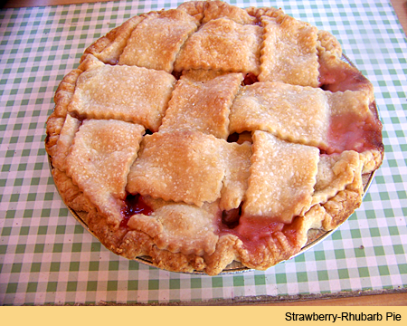 Homebaked pies and treats at From the Farm Treats-Bringing Locally Grown Berries into the Fresh Baked Goodies for Burlington, Washington